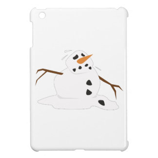 Snowman Melting iPad Mini Cases