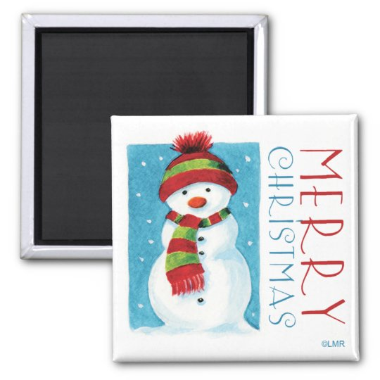 Snowman | Merry Christmas Novelty Magnets