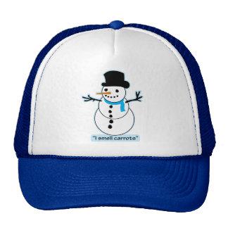 snowman mesh hats