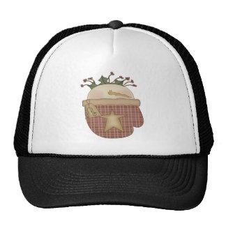 Snowman Mitten Trucker Hats