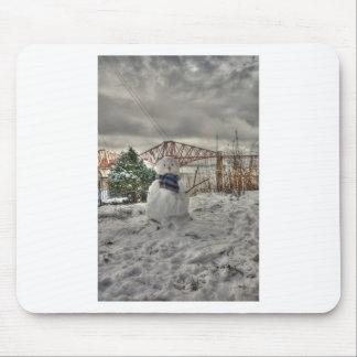 Snowman Mouse Mat