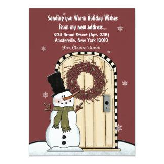 Snowman Moving Announcement
