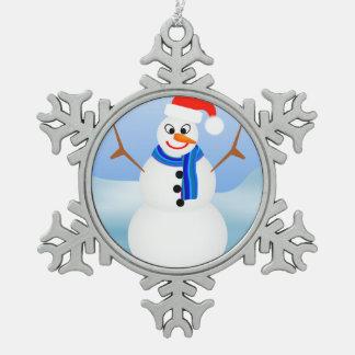Snowman Ornament by Julie Everhart