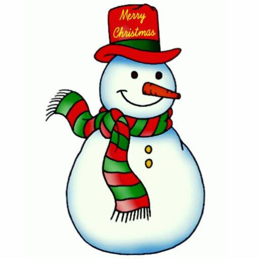 Snowman Face Cut Out Ornament Printables