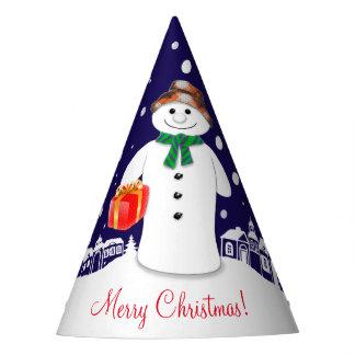 Snowman Party Hat