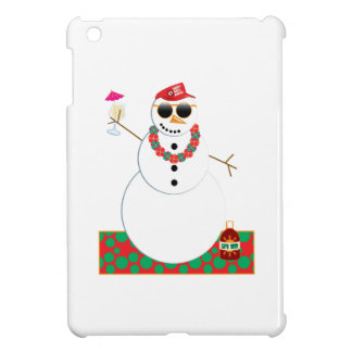 Snowman Party Case For The iPad Mini