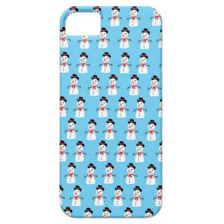 Snowman pattern iPhone 5 case