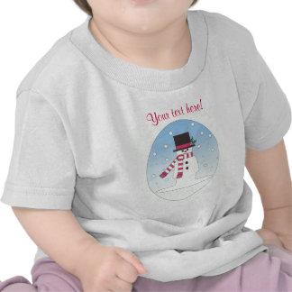 Snowman - Personalised Shirts