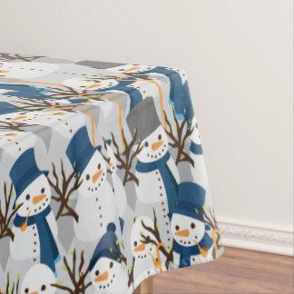 Snowman Pile Tablecloth