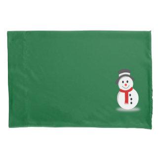 Snowman Pillowcase