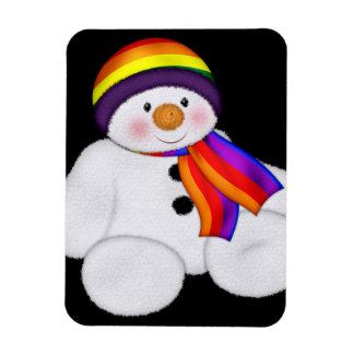 Snowman Pride Magnet