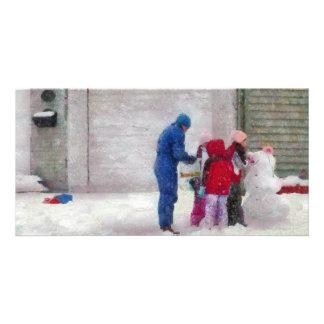Snowman - Reconstructive Surgery Photo Cards