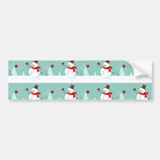 snowman & robbin bumper stickers