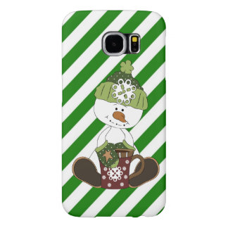 Snowman Samsung Galaxy s6 barely there case