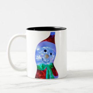 Snowman Santa Mug