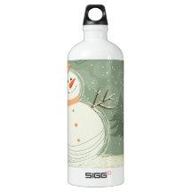 Snowman SIGG Traveler 1.0L Water Bottle