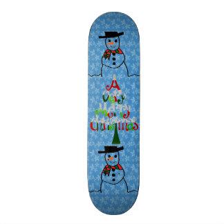 Snowman Skateboard
