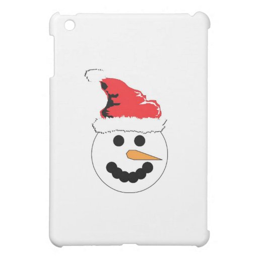 Snowman Smile iPad Mini Cases