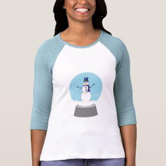 Snowman Snow globe Christmas gifts Tee Shirt