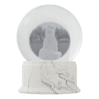 Snowman Snow Globe Personalized Winter Snowglobes