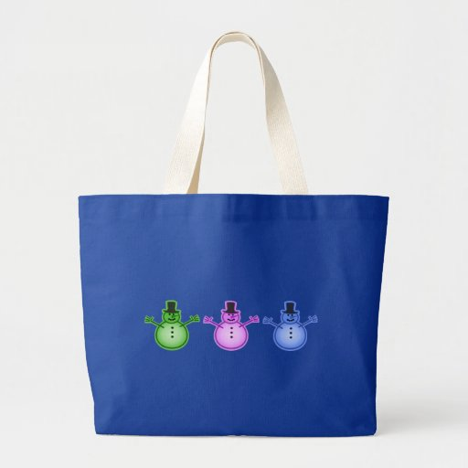 Snowman Snow Man Chill Winter Design Bags