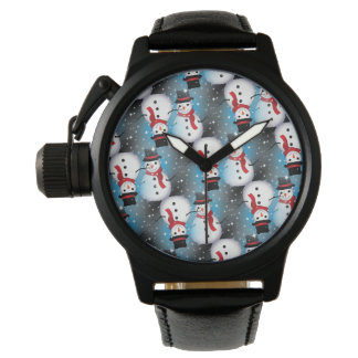 Snowman/Starry Blue Watch