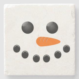 Snowman Stone Coaster