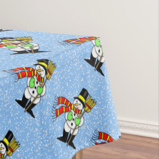 Snowman Tablecloth
