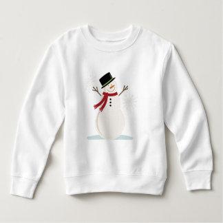 snowman TEE SHIRT  long slv