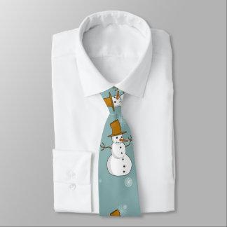 Snowman Tie