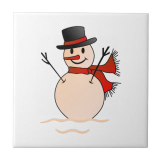 Snowman Tile