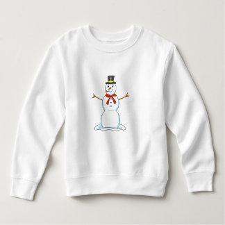 Snowman Toddler Sweatshirt