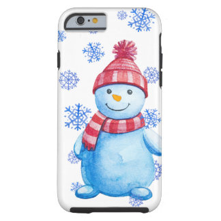 Snowman Tough iPhone 6 Case