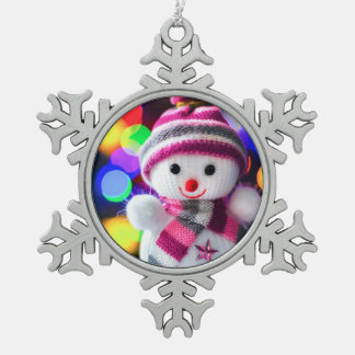 Snowman Toy Christmas Ornament Snowflake