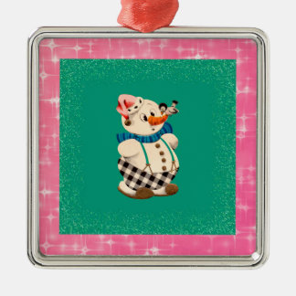 Snowman Vintage Christmas Christmas Ornament