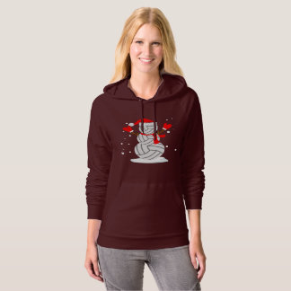 Snowman volleyball T-Shirt Funny Christmas Gift