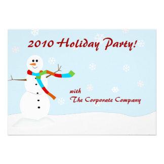 Snowman Winter Invitation