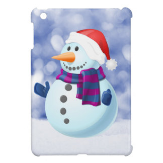 Snowman Winter Merry Christmas Snow Cover For The iPad Mini