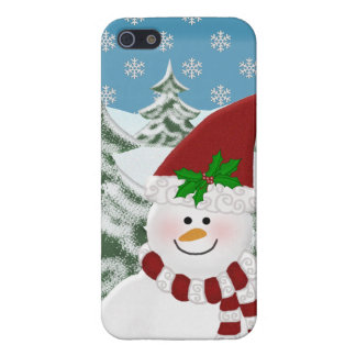 Snowman: Winters Beauty iPhone 5 Covers