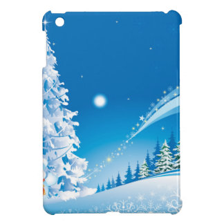 snowmans christmas case for the iPad mini