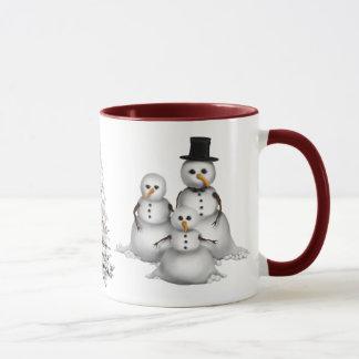 Snowmans Christmas mug