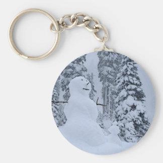 Snowman's Paradise Key Ring