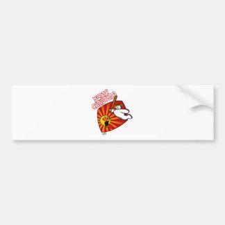 Snowman's Revenge Bumper Sticker