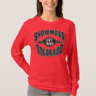 Snowmass 1946 Black & Silver T-Shirt