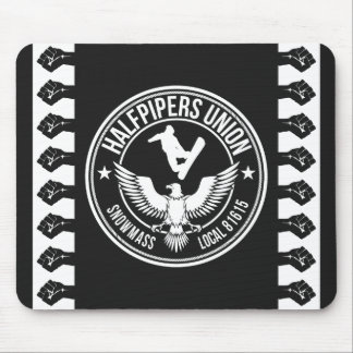 Snowmass Halfpipers Union Mouse Mat
