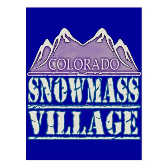 Snowmass Village, Colorado Postcard