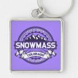 Snowmass Violet Keychain