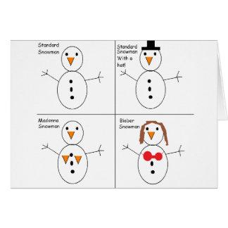Snowmen Card