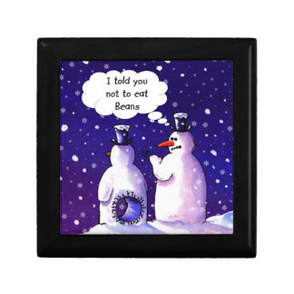Snowmen Don't Eat Beans Gift Box