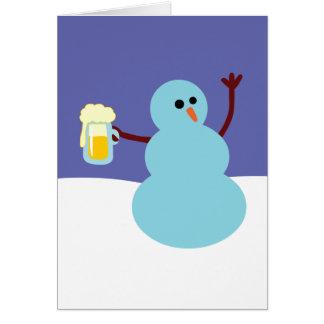 Snowmen Gone Wild! Greeting Card